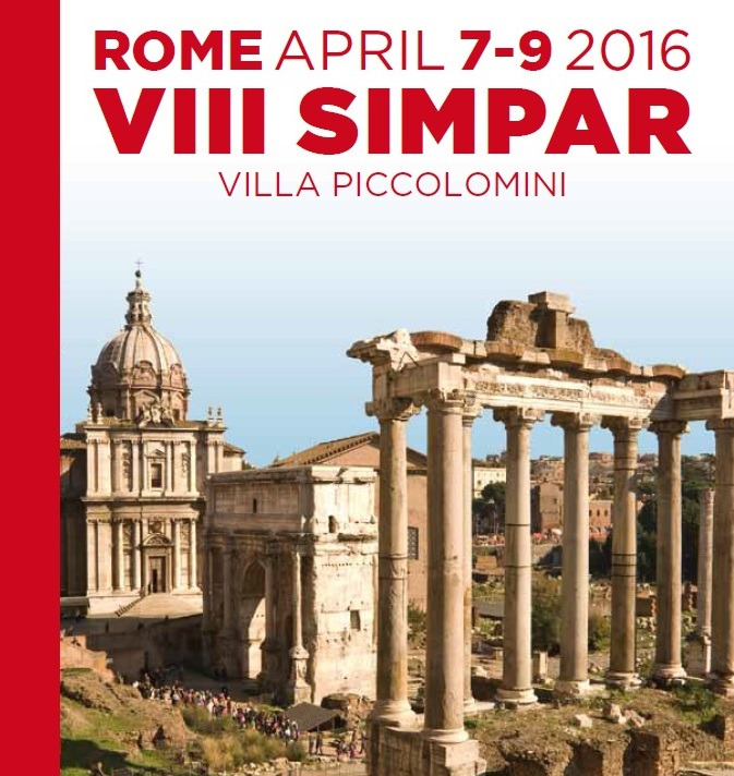 SIMPAR 2016 – Rome, Villa Piccolomini, April 7th – 8th – 9th, 2016