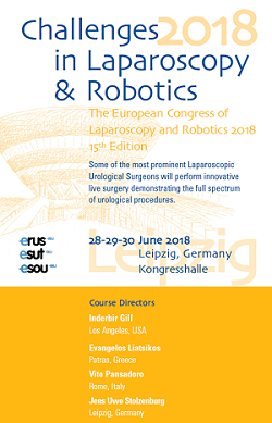 Challenges in Laparoscopy & Robotics 2018 – Leipzig, June 28th-30th, 2018
