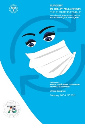 SURGERY IN THE 3RD MILLENNIUM: THE FUTURE IS FEMALE – virtual congress , February 26th & 27th, 2021