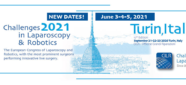 Challenges In Laparoscopy & Robotics 2021, OGR, Turin, June 3-4-5 2021