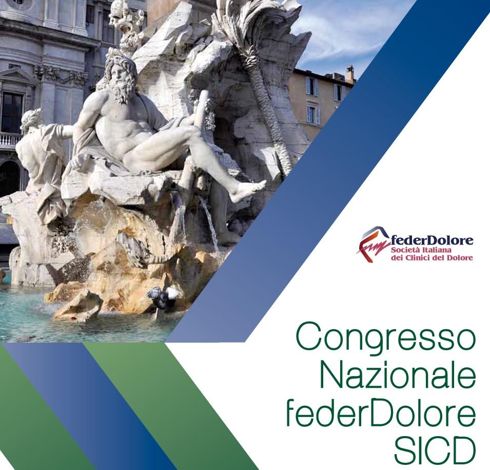 Congresso Nazionale FederDolore SICD – Roma, Hotel Sheraton Golf, 16-18 Giugno 2016