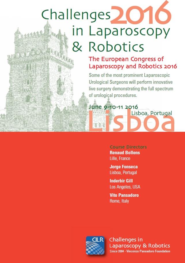 Challenges in Laparoscopy & Robotics 2016 – Lisbon, Champalimaud Foundation, June 9th – 11th, 2016