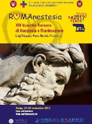 RomAnestesia – Roma, Casa dell'Aviatore, 27-28 Novembre 2017