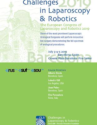 Challenges in Laparoscopy & Robotics 2019 – Barcelona, Crowne Plaza Fira Center, July 3-4-5, 2019