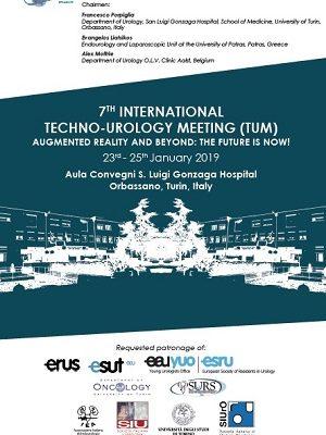 7th Techno-Urology Meeting (TUM) – Orbassano, San Luigi Gonzaga Hospital, January 23rd-25th, 2019