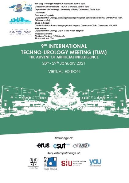 9th Virtual Edition  International Techno-Urology  Meeting,(TUM),   January 28th-29th 2021