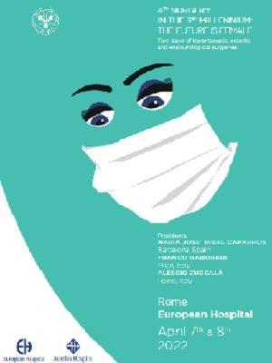 4th Surgery in the 3rd Millennium: the future is female, Rome, European Hospital,  April 7th & 8th 2022